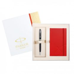 Parker SONNET 1905302 MATTE BLACK CT golyóstoll + RED NB XMAS14