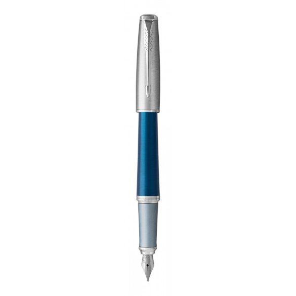 Parker Royal Urban Premium Töltőtoll Sötét Kék, Ezüst Klipsz