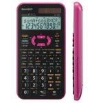 Sharp EL-506X-PK Színes tudományos számológép, Pink