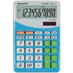 Sharp EL-M332BBL kék asztali számológép