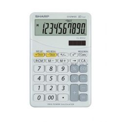 Sharp EL-M332BWH fehér asztali számológép