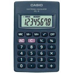 Casio HL-4 szürke zsebszámológép