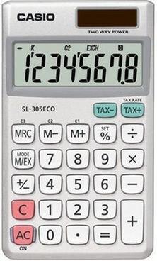 Casio ECO MS-88ECO környezetkímélő asztali számológép