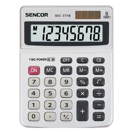 SENCOR SEC 377/8 asztali számológép