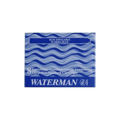 3 db Waterman Töltőtoll PATRON Töltőtoll PATRON S0110860, 52002 STAND. 8 DB BLUE