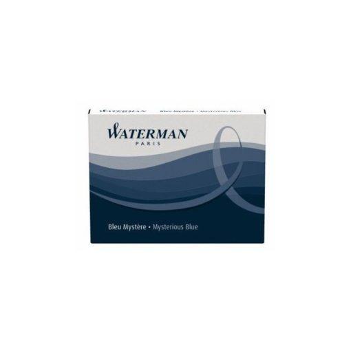 2 db Waterman Töltőtoll PATRON Töltőtoll PATRON S0110910, 52007 STAND. 8 DB BLUE-BLACK