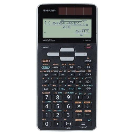 Sharp EL-W506T-BSL tudományos számológép - Legújabb Sharp csúcsmodell!