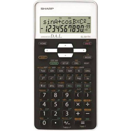 Sharp EL-531THB-WH Színes tudományos számológép - Fehér
