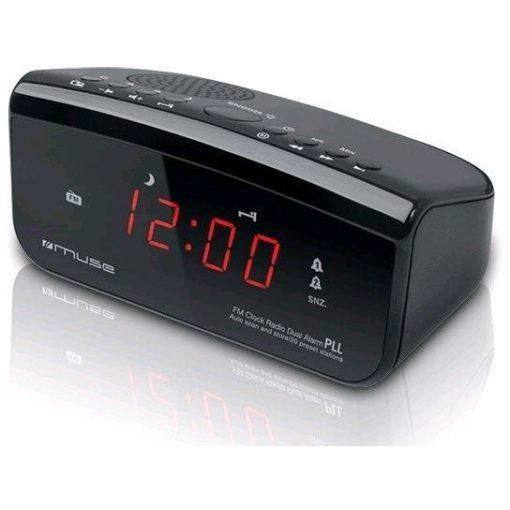 Muse M12CR rádiós ébresztő óra